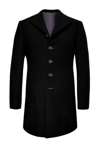 Manteau Noir en pur cachemire