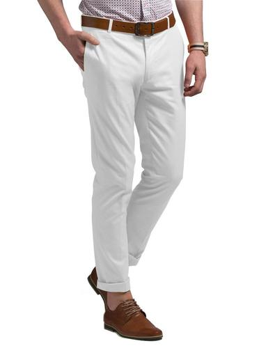Chino Pure White Chinos - Söktas