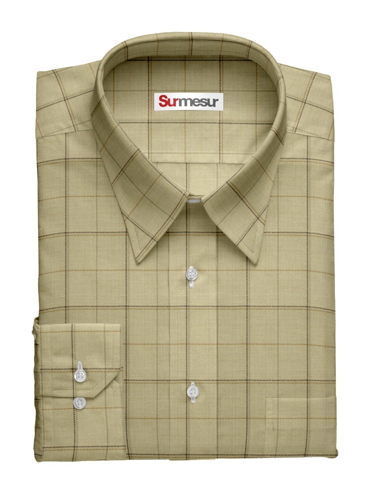 Dress shirt Beige