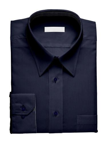 Dress shirt Stretch Navy - Tenamo