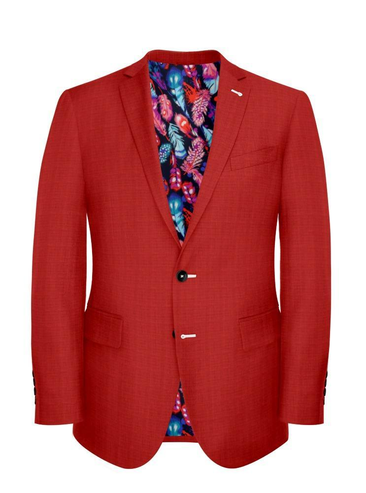 Jacket Vermilion Red Mesh - Oscar +