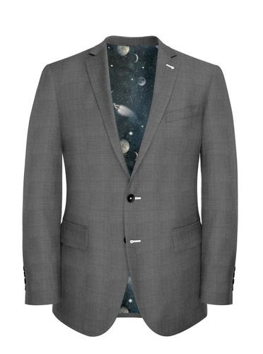 Jacket Plain Grey - Georges