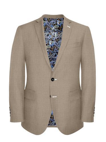Jacket Sand Linen Blend - Oscar +