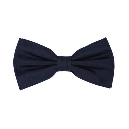 Bow tie Navy Silk