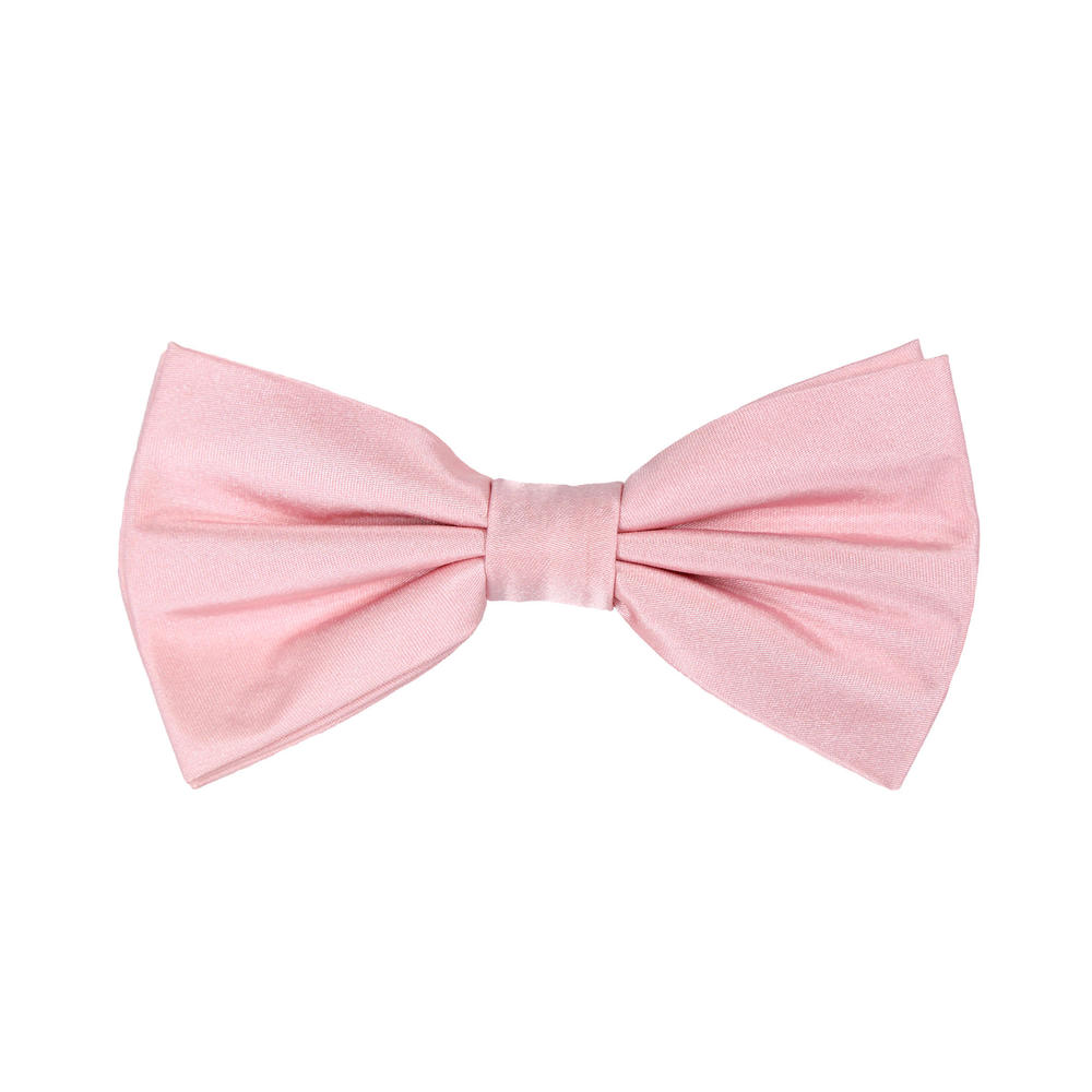 Bow tie Light Pink Silk
