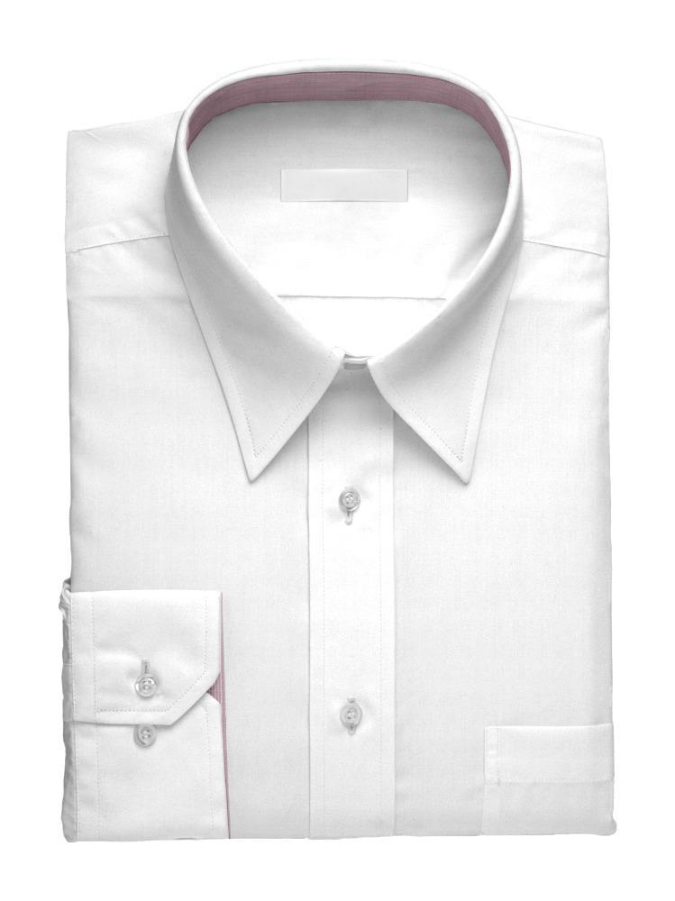 Dress shirt White Simone w/ Contrast