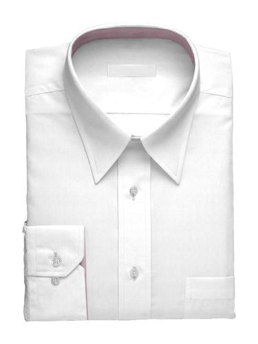 Dress shirt White Simone w/ Contrast