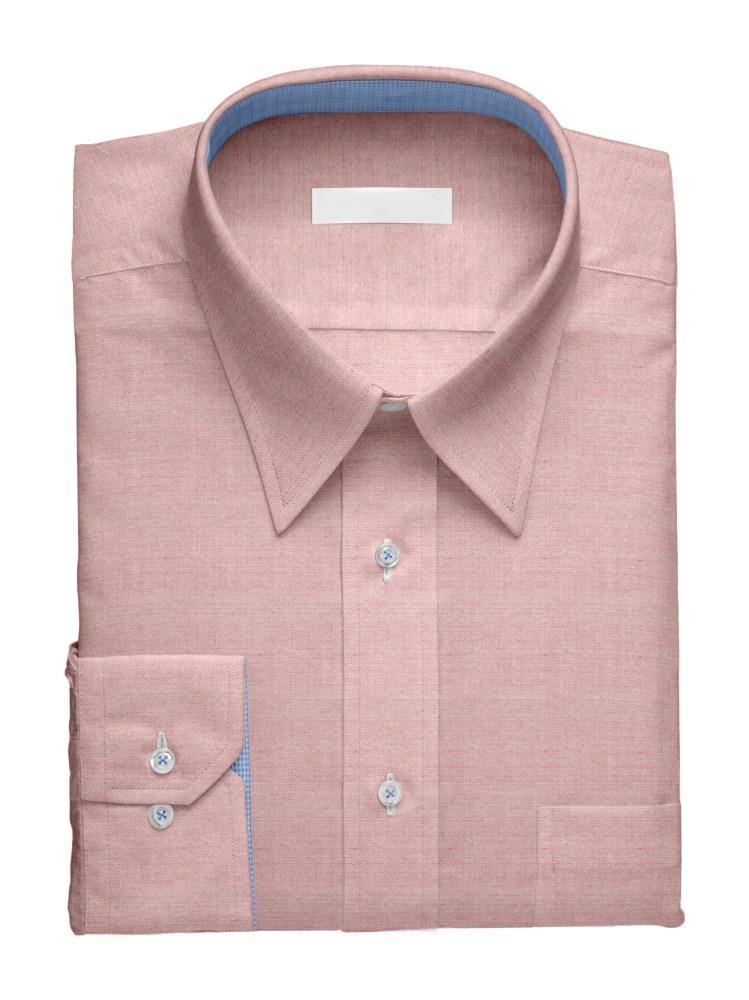 Dress shirt Pink Charlotte w/ Contrast
