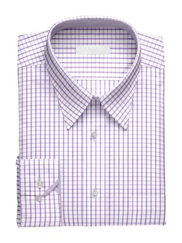 Dress shirt Charlotte Checks w/ Contrast