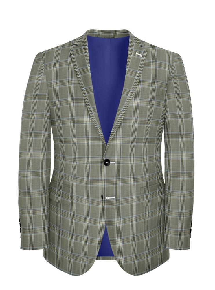 Jacket Sand Plaid - Georges