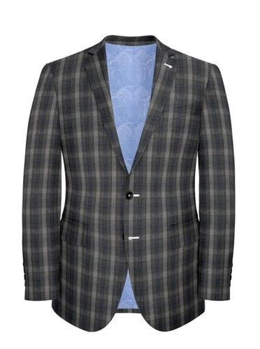 Jacket Grey Check - Wilfred