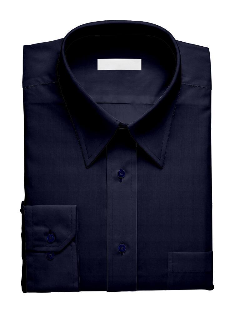 Sport shirt Navy w/ Mao Collar - Tenamo