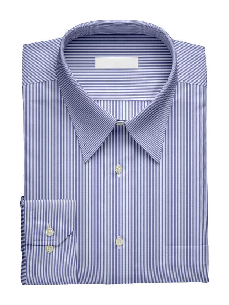 Chemise habillée Rayée Bleue - Liberty