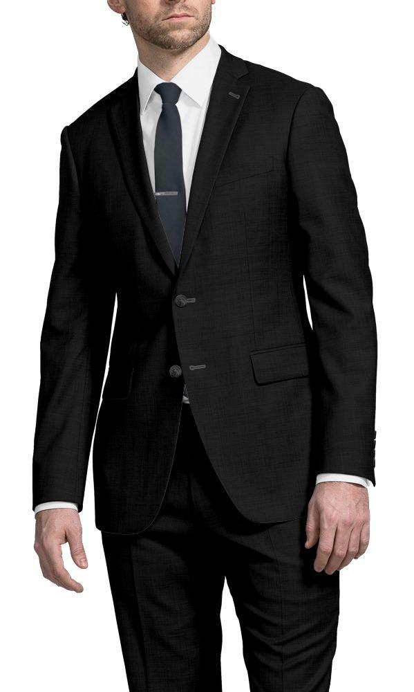 Suit Plain Black - Hunter