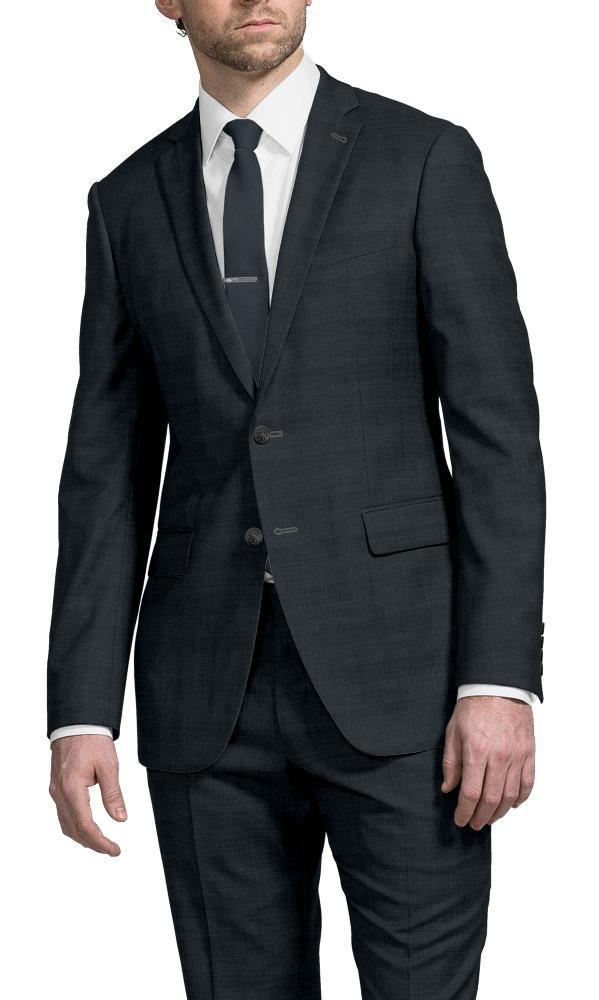 Suit Grey-Blue Glen Check - Henry