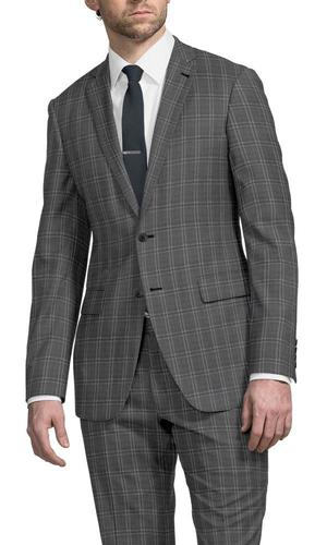 Suit Grey Checks - Lucio