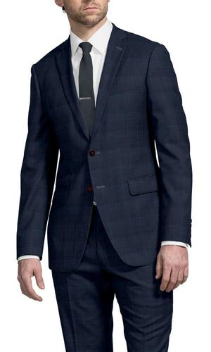 Suit Blue Windowpane - Lucio