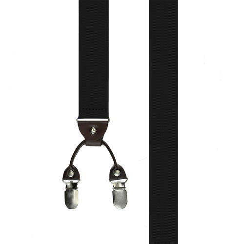 Suspenders Clip Suspenders - Solid Black