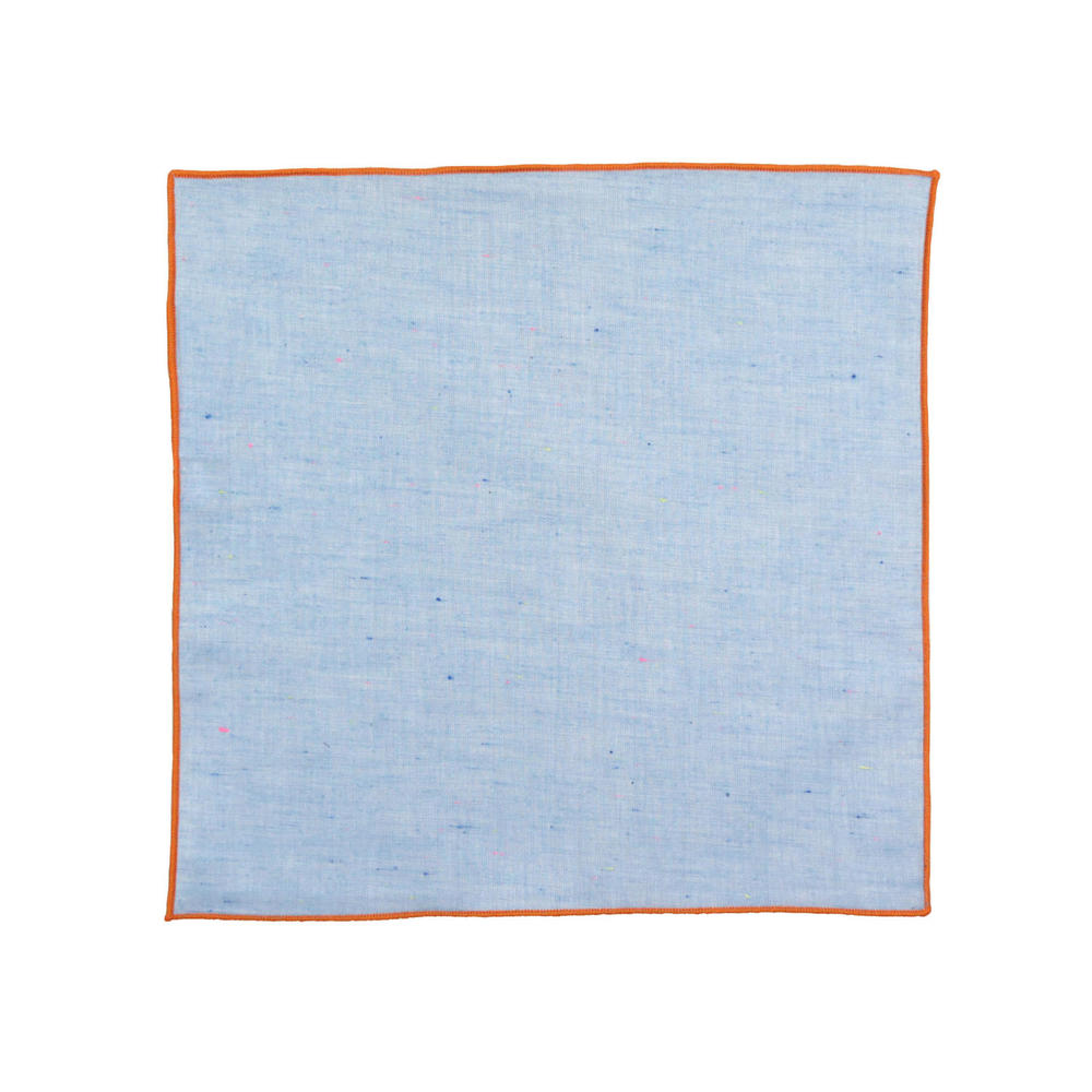Large surmesur pocket square cotton ps19blubrnorg ac09a5adee