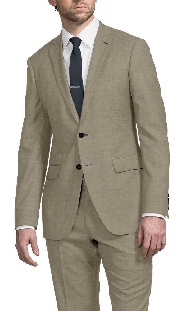 Suit Sand Linen - Gustavo