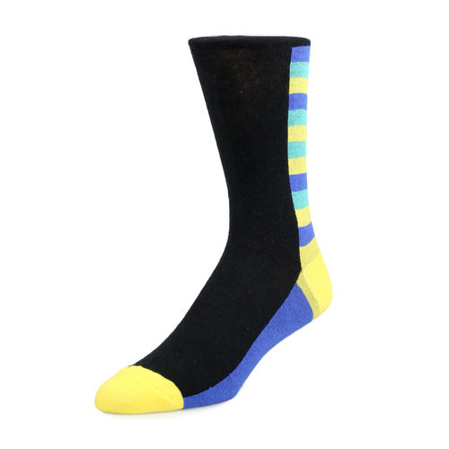 Socks Socks - Black and Neon