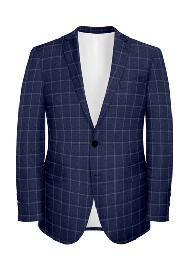 Jacket Blue Windowpane