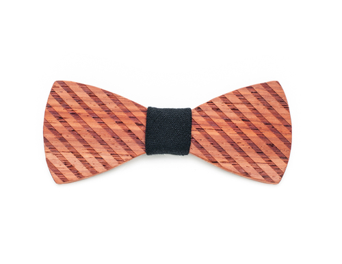 "Bow tie Engraved wood Bow tie ""Nathan Road"""