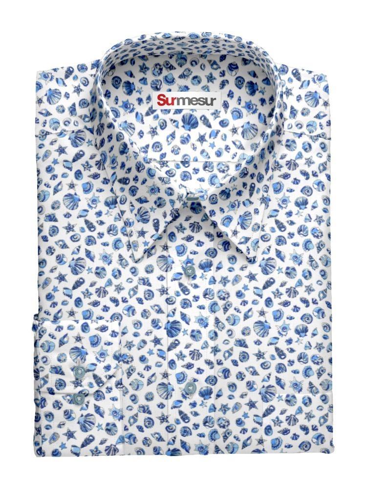 Chemise habillée Coquilles Saint-Jacques