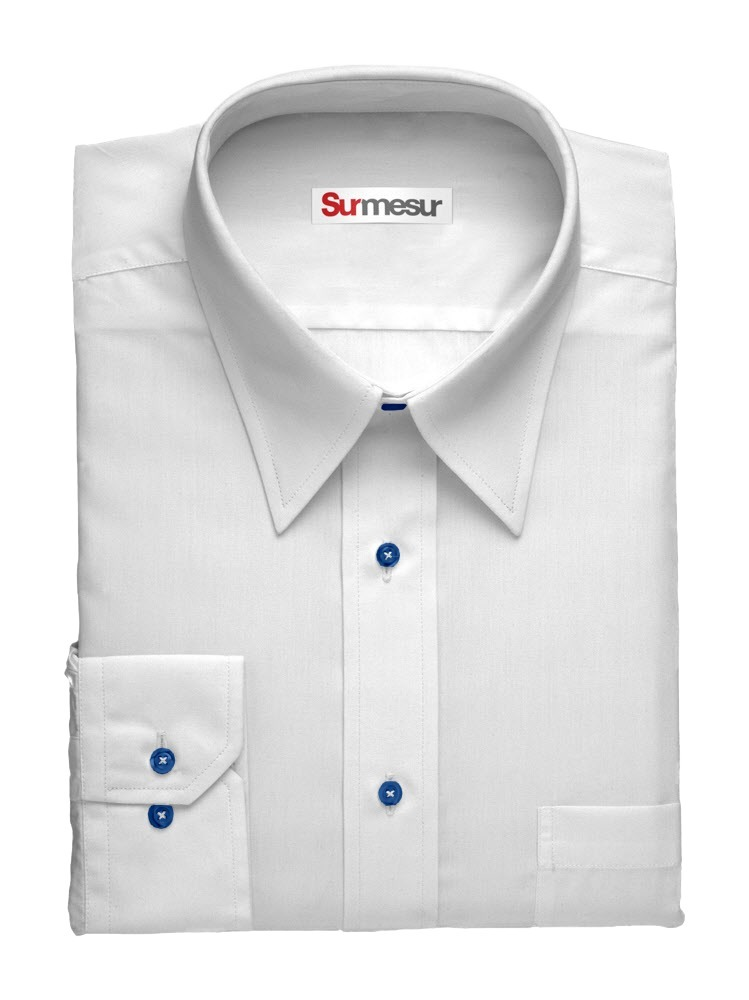Dress shirt White with a Twist