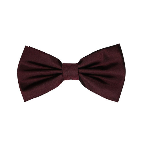 Bow tie Burgundy Silk