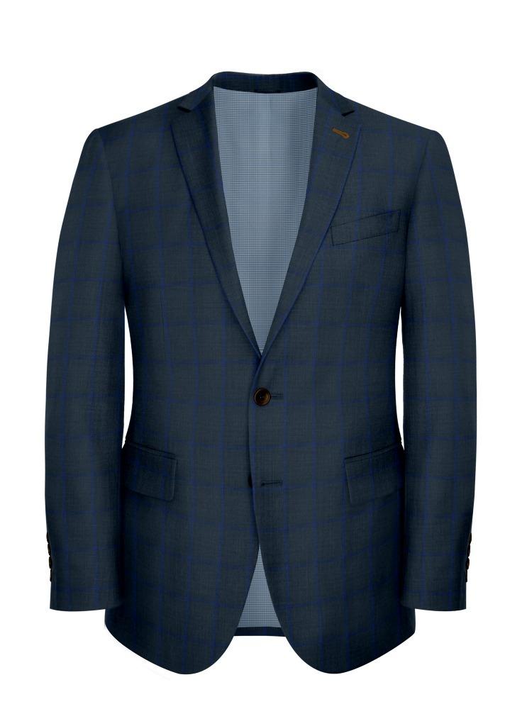 Jacket Blue Pane