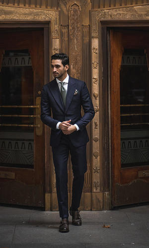 Suit Timeless Navy Suit - Greenock
