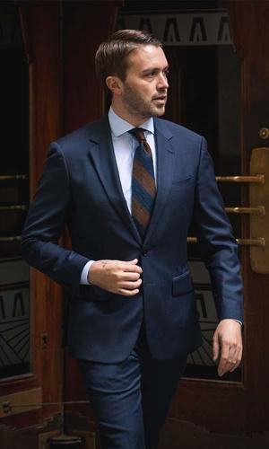 Suit Petrol Blue Suit - Hunter