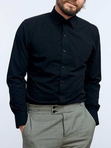 Dress shirt Black - Tenamo