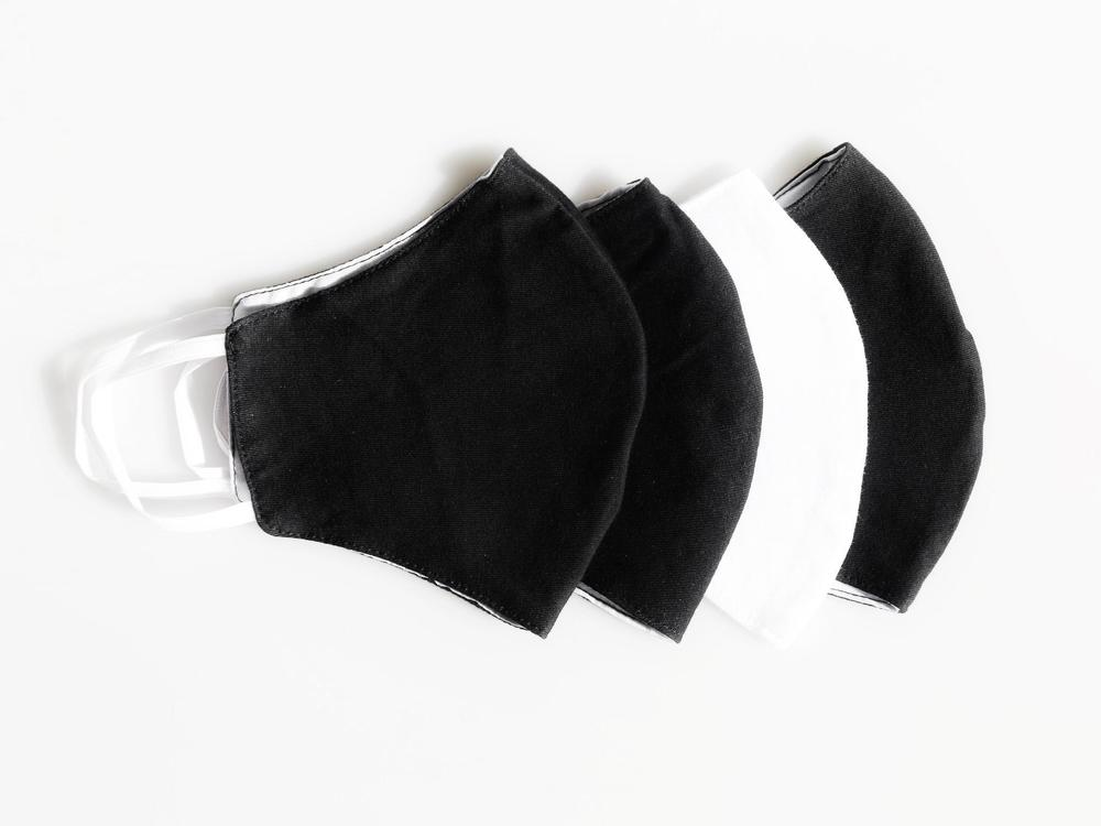 Reusable Face Protection The Reusable Cotton Mask - B&W - 12x