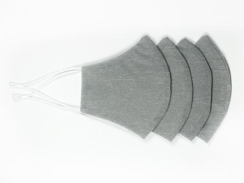 Couvre-visage réutilisable Masque ajustable et réutilisable - Gris - 100X