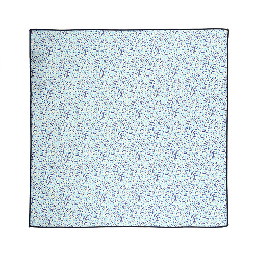 Pocket square Pocket Square - Blue Dandy