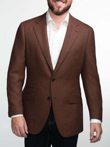 Jacket Copper Brown Mesh - Oscar +