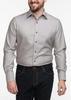 Sport shirt Taupe Wool/Cashmere Blend Sport Shirt