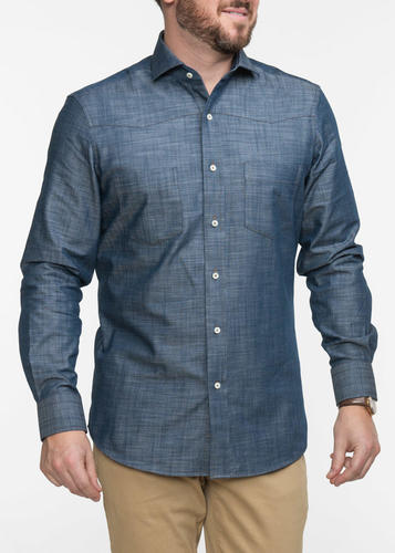 Sport shirt Western Blue Denim Sport Shirt