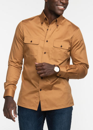Chemise sport Chemise sport ocre