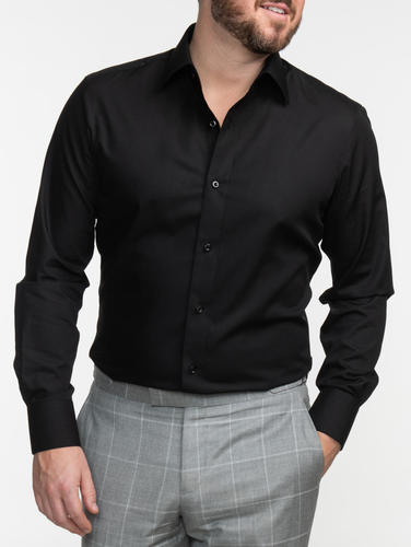 Dress shirt Easy Care Black Shirt