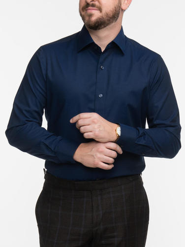 Dress shirt Navy Dress Shirt