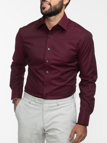 Chemise habillée Chemise bourgogne