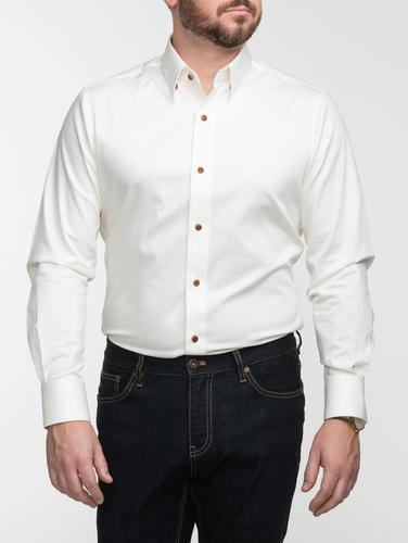 Chemise habillée Chemise blanc cassé