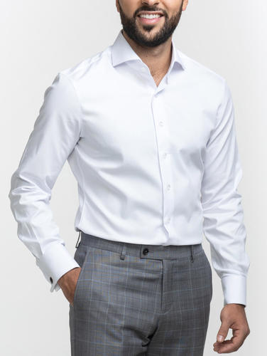 Dress shirt White Shirt with Cufflinks