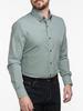 Dress shirt Green Gingham Shirt
