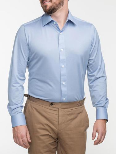 Chemise habillée Chemise bleue pâle extensible