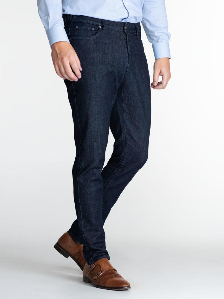 Jeans Custom Fit Dark Blue Jeans