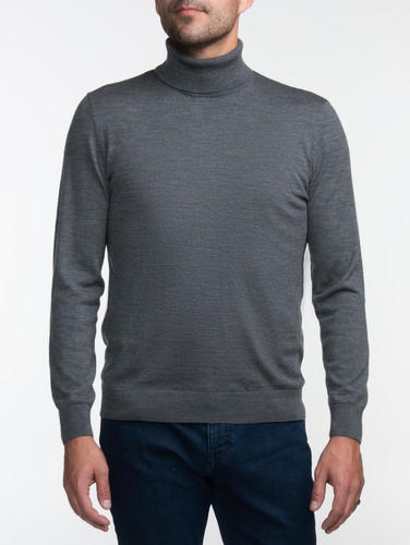 Turtlenecks Grey Turtleneck - S